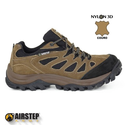 Tênis Hiking Airstep - REF.: 5600-7 BROWN BLACK