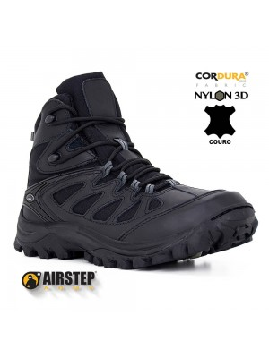 5700-1. HIKING BOOT / BRAVO 10 - BLACK